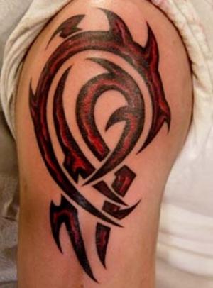 chest tattoo tribal Forearm Men Tribal Tattoos for